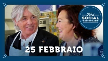 Ford Social Restaurant 25 febbraio