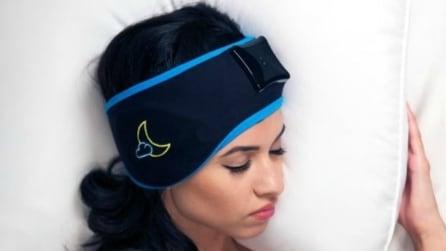 Sleep Shepherd Blue, la fascia che risolve i problemi di insonnia