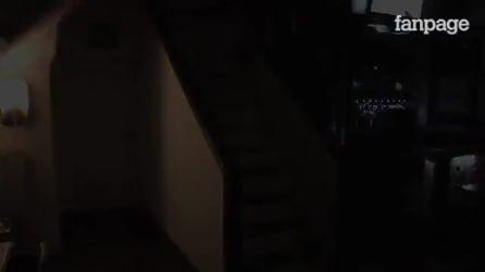 Parecem escadas normais, mas veja o que acontece quando a pessoa pisa no primeiro degrau
