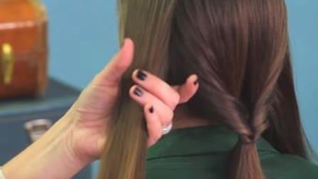 Dividi i capelli in questo modo: realizzerai una pettinatura fantastica