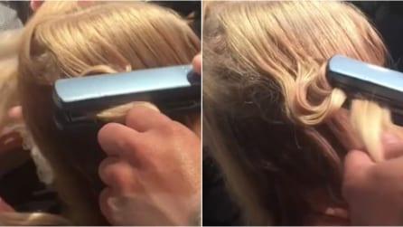 Come fare i capelli ad onda con la piastra liscia