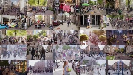 Meglio strade destinate alle auto o ai pedoni? Amsterdam insegna