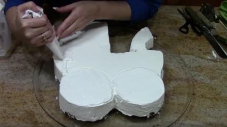 Come realizzare una torta a forma di culla