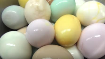 Come colorare le uova di Pasqua senza coloranti artificiali