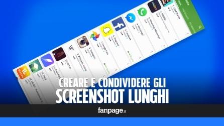 Come scattare gli screenshot lunghi di Galaxy S7 in tutti gli Android