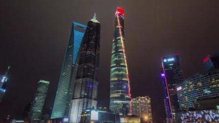 Quattro anni in pochi secondi: ecco il secondo grattacielo più alto del mondo