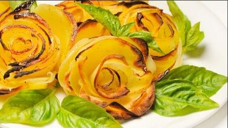 Come fare delle rose di patate: la ricetta super veloce