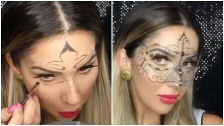 Basta con le solite maschere!, ecco come dipingerne una particolare sul tuo volto!