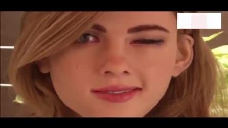 La donna Robot che somiglia a Scarlett Johansson