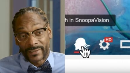 Su YouTube per un giorno spunta il tasto Snoop Dogg