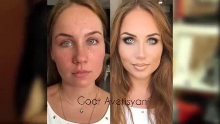 Goar, la maga del make-up trasforma le sue clienti con il contouring