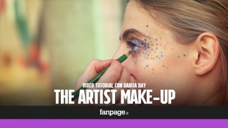"Pois e colori accesi: il make up ""artistico"" nel tutorial di Dariia Day"