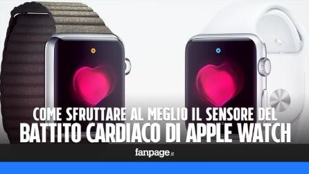 Sfuttare al meglio il sensore del battito cardiaco di Apple Watch