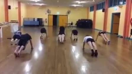 """Si balla e si fa workout contemporaneamente, ecco il """"nutbush"""""""