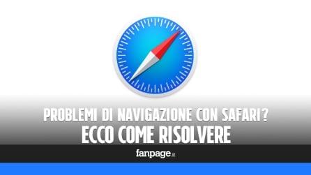 Problemi di navigazione con il Mac? Ecco come risolvere
