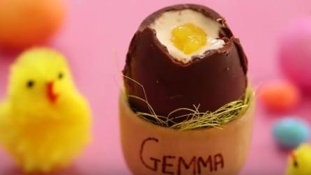 Come fare delle uova di cioccolato in pochi minuti