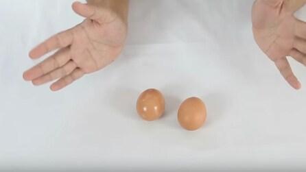 Come riconoscere se un uovo è cotto o è crudo