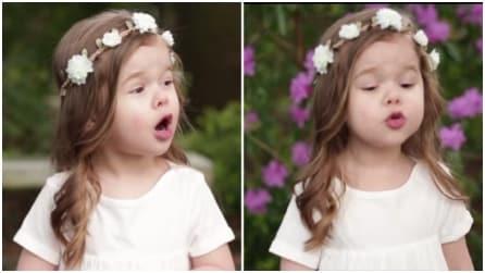 Un talento naturale: canta una canzone per la Pasqua in modo dolcissimo