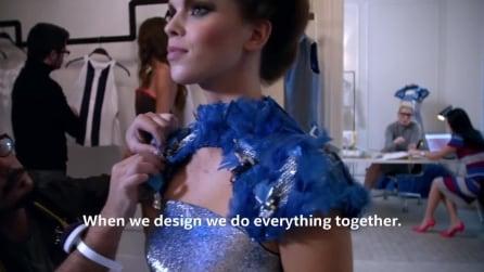 """Butterfly Dress, l'abito """"tecnologico"""" con 40 farfalle che volano"""