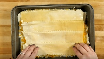 "Come preparare una particolare"" lasagna vegetariana"