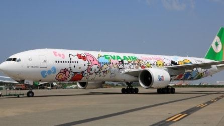 Hello Kitty Jet, il primo aereo a tema Hello Kitty