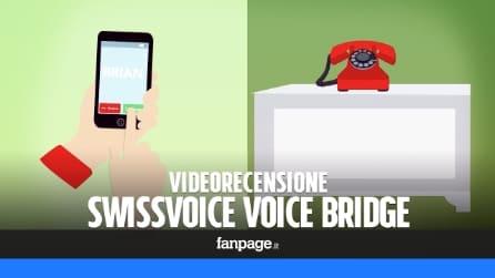 Recensione Swissvoice Voice Bridge: ricevere (ed effettuare) le telefonate da rete fissa con lo smartphone