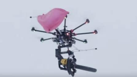 Il Killer Drone con la motosega: il finale è disastroso