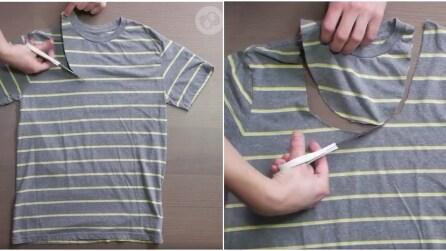 Hai una vecchia maglia? Ecco cosa puoi farci invece di buttarla