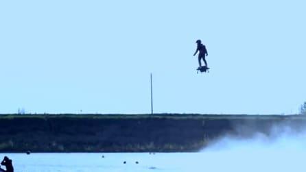 Vola sull'acqua e arriva a 3000 metri di altezza: è arrivato il mezzo del futuro