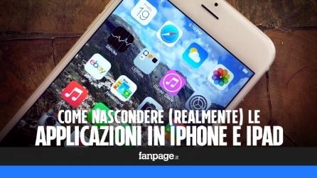 Nascondere (realmente) le app in iPhone e iPad con un trucco Mac e iPhone