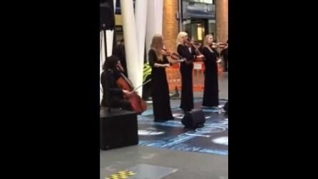 Il quartetto suona la canzone di Games of Thrones: il modo migliore per iniziare la giornata