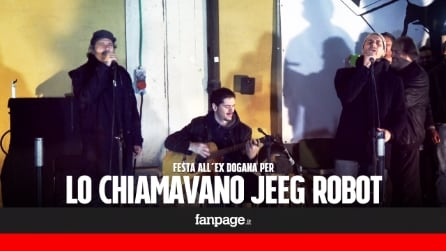 'Lo chiamavano Jeeg Robot', il cast festeggia all'Ex Dogana il trionfo ai David 2016