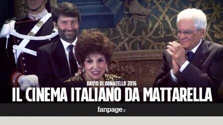I candidati ai David di Donatello ricevuti al Quirinale, premi speciali per Lollobrigida e Taviani