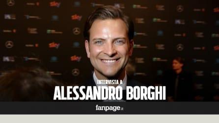 """David di Donatello 2016, Alessandro Borghi: """"Sono felice per i film che mi sono rimasti nel cuore"""""""