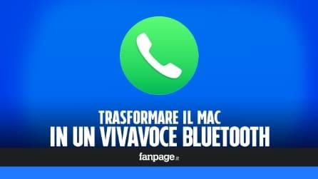 Trasformare il Mac in un vivavoce bluetooth (e registrare le telefonate)