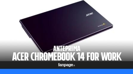 Anteprima Acer Chromebook 14 for Work