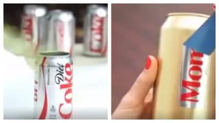 Prende una lattina di coca-cola e quello che crea è davvero originale: un'idea per la festa della mamma