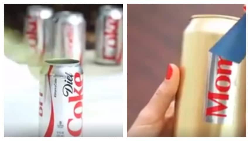 Prende Una Lattina Di Coca Cola E Quello Che Crea è Davvero