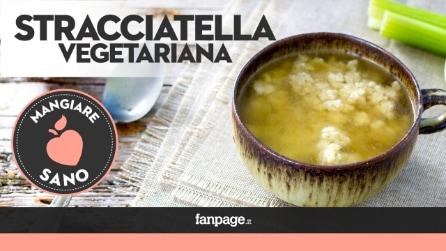 Stracciatella in brodo, la ricetta della minestra tipica delle Marche
