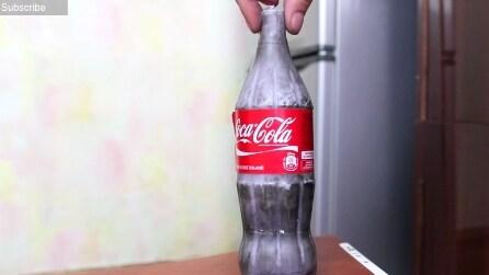 Come fare una candela originale a forma di bottiglia di Coca Cola