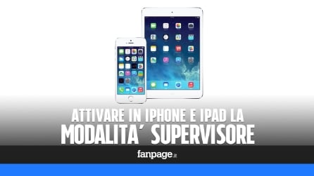 Come attivare la modalità Supervisore in iPhone e iPad