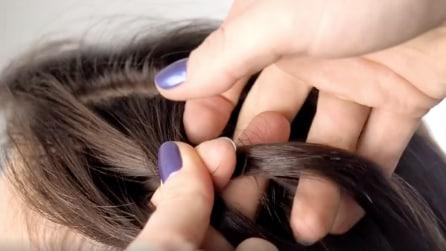 Intreccia i capelli in questo modo: una magnifica pettinatura in pochi secondi