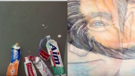 Prende 20 tubetti di dentifricio e quello che realizza è unico: non crederete ai vostri occhi