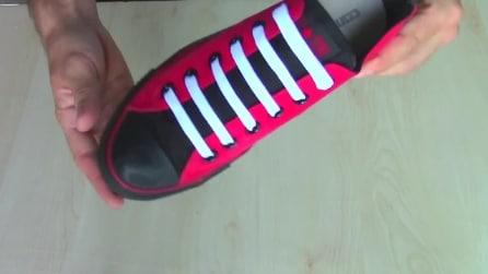 Come infilare i lacci alle scarpe: paralleli, incrociati e in tutti i modi