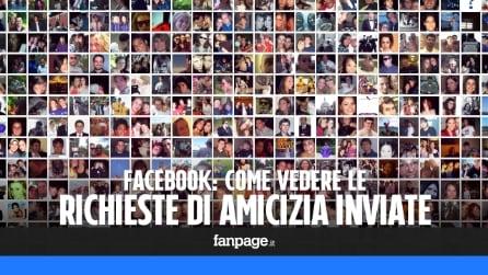 Come vedere le richieste di amicizia inviate su Facebook