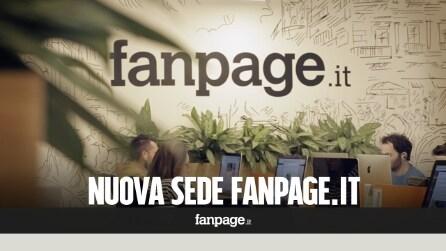 All'interno della nuova sede di Fanpage.it a Napoli