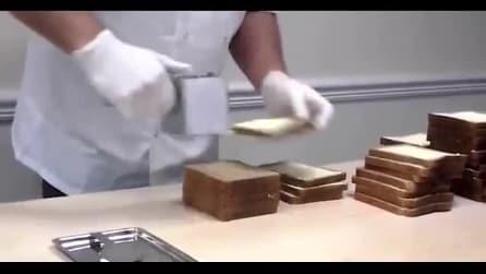 Spalma il burro sulle fette di pane in questo modo: l'invenzione è geniale