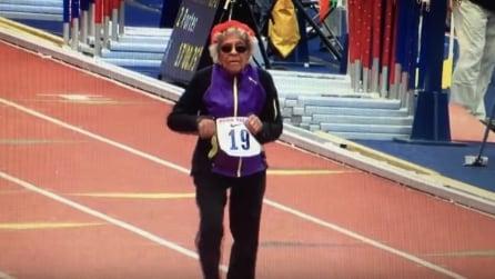 A 100 anni percorre 100 metri: il risultato è da record