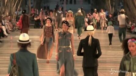La prima sfilata di Chanel a Cuba: lo show nel centro de L'Avana