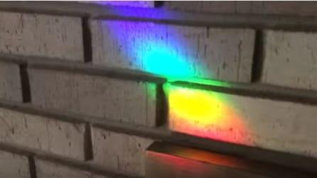 Cosa si nasconde in un arcobaleno? Le immagini di questo esperimento sono spettacolari